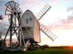 Gt. Chishall Windmill in the next village. Lovely walks & cyling.