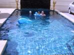 Great Private Pool with Separate Children's Pool