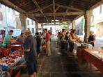 The covered Saturday market