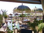 Bahia de Tanit Beach 'club' at Torre del Mar; a favourite beachside find with great sunbed