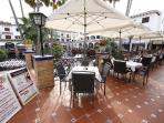 Villamartin Plaza offers a lively multicultural mix of bars, restaurants and nightclubs.