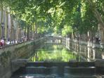 Les jardins de la fontaine, 2 mn walk