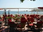 Beachfront Bar in Banyuls Town
