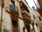 local architecture in Vittoriosa