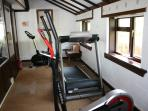 Our fitness room