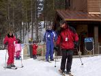 Ski Shop on site with Discounts for guests. All usual ski packages available. Free Ski Lockers.