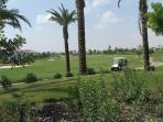 Resort golf course.
