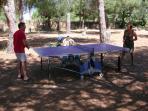 ping pong dans notre parc