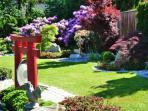 Unseren blühenden Japangarten können Sie ab Anfang Mai in voller Blüte genießen!
