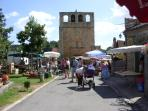 Meyrals village - summer market