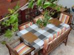 Open terrace garden