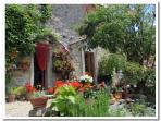 front of Casa Nonna, terrace
