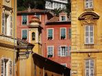 buildings in 'Vieux Nice' the old town