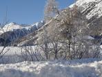 Vista verso St Moritz