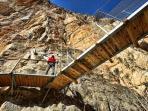 Climbing sector 'El Oasis'