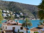 Stroll along the coastal path from Moraira down to the beautiful bay of El Portet