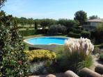 communal pool, viewed from terrace