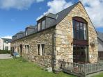 A beautiful stone built barn conversion in Moray