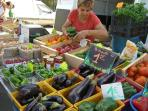 Local farmers offer fresh products at Velleron market daily from 6pm to 8pm.