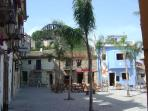 One of the town's lovely old squares