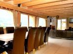 Huge spacious lounge -diner