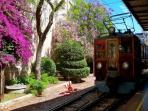 Soller to Palma Train