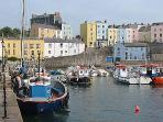 Get some fresh air around the stunning harbour