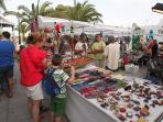 Market in Costa teguise