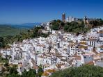 The traditional local village of Casares.15 minute drive inland and you have some fantastic scenery