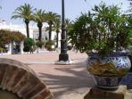 One of the squares in Ayamonte