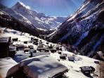 Vue extraordinaire (Dent-Blanche 4'357m) et tranquillité, au coeur des Alpes suisses
