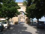 The Triumphal Arch in Loro Piceno