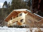 Chalet Calvert in winter
