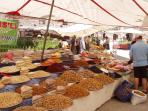 Traditional weekly market in Gulluk
