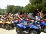 A day out on our quad safari