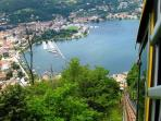 Brunate Funicular - Como