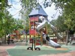 Kids playground in Paloma park