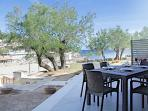 Luxury apartment with sea views. First line Cala Molins, Pollensa!