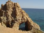 Nearby coastal scenery in cabo de gata -3k