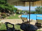 10 m diameter swimming pool, height 120/130 cm