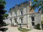 The elegant Manoir de Gourin - a former wine estate.
