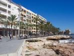 Sea Front - Torrevieja - Shopping - Beach - Cafes - Restaurants - All Yours
