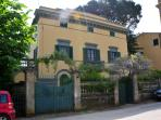 Holiday villa in Calci, Pisa features private garden and terrace, sleeps 10