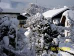 Winter view from apartment 1