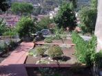 Panoramica di una parte del giardino