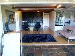 Spacious open plan lounge