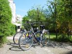 The GetInBerlin bicycles, only for our guests