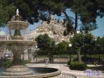 Fountain in Castalla centre