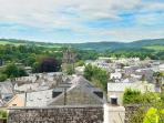 Views from the garden over Tavistock