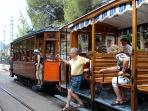 Old touristic train soller